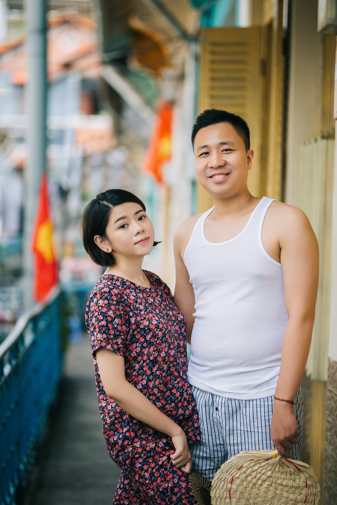 Cặp đôi có chuyện tình không giống ai và quyết định chụp bộ ảnh cưới thời bao cấp đầy bá đạo - Ảnh 34.