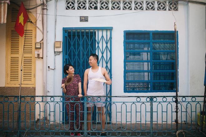 Cặp đôi có chuyện tình không giống ai và quyết định chụp bộ ảnh cưới thời bao cấp đầy bá đạo - Ảnh 14.