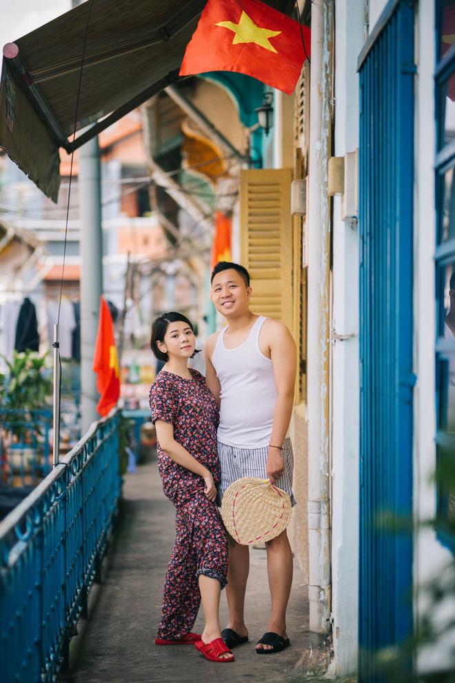 Cặp đôi có chuyện tình không giống ai và quyết định chụp bộ ảnh cưới thời bao cấp đầy bá đạo - Ảnh 33.