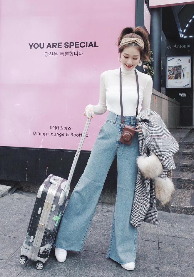 Áo khoác dài + quần ống rộng: Combo mặc kiểu gì cũng đẹp cho mùa đông năm nay - Ảnh 12.