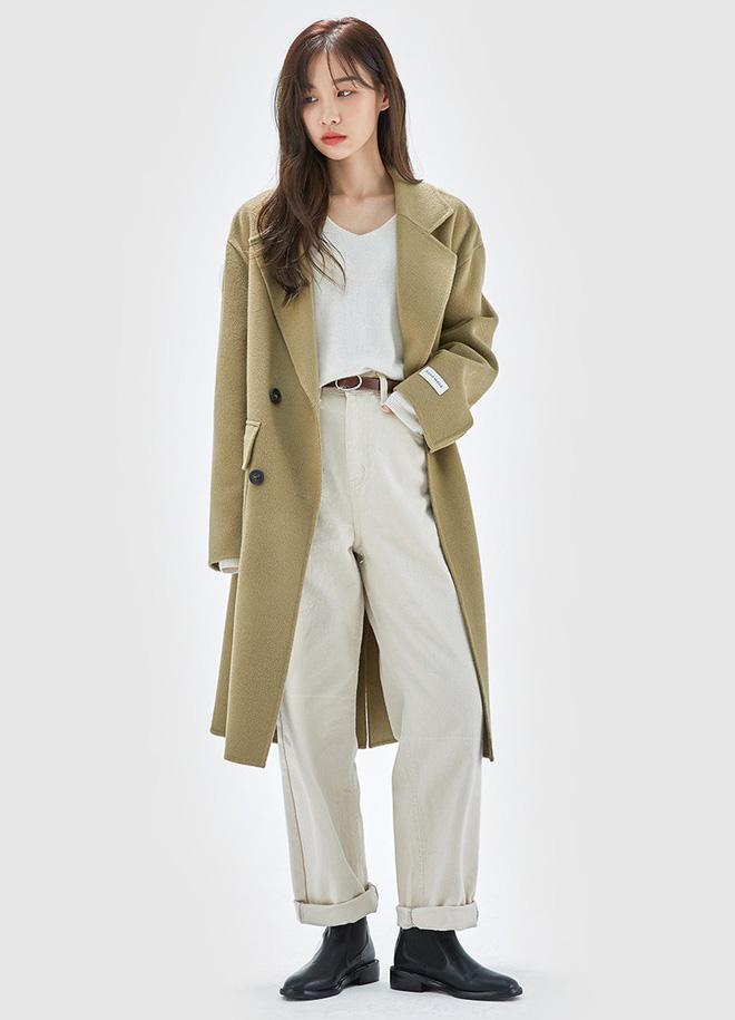 Áo khoác dài + quần ống rộng: Combo mặc kiểu gì cũng đẹp cho mùa đông năm nay - Ảnh 11.