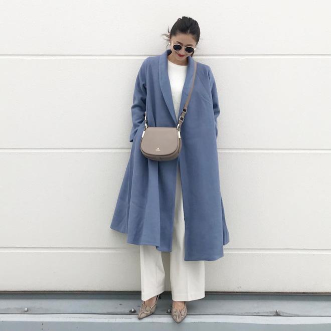 Áo khoác dài + quần ống rộng: Combo mặc kiểu gì cũng đẹp cho mùa đông năm nay - Ảnh 6.
