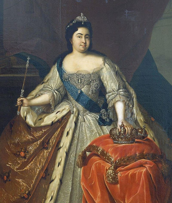 Nữ hoàng đầu tiên của nước Nga: xuất thân hầu gái nghèo không biết chữ, 10 lần đau đớn vì mất con - Ảnh 3.