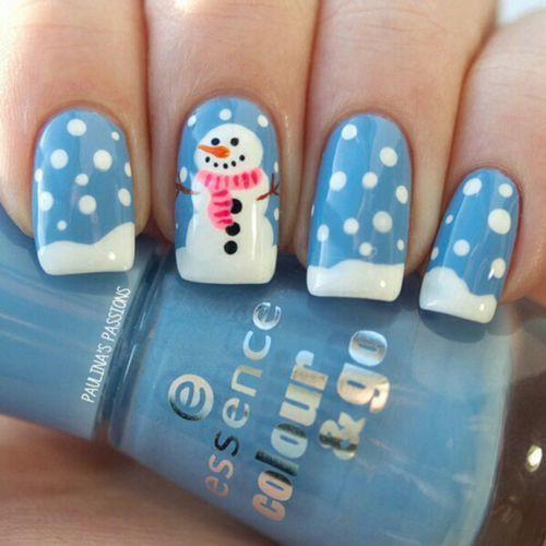 14 tác phẩm móng tay đẹp mắt dành cho bạn gái trong mùa đông - Ảnh 17.