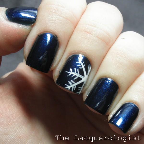 14 tác phẩm móng tay đẹp mắt dành cho bạn gái trong mùa đông - Ảnh 7.