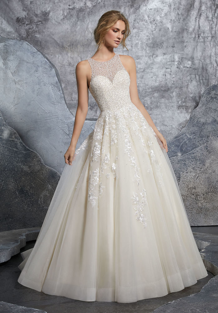 Kết quả hình ảnh cho váy cưới chữ A