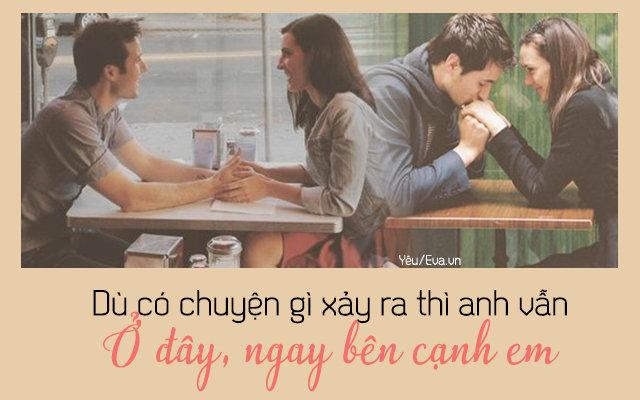 """Những câu nói ngọt ngào trong tình yêu còn hơn cả """"anh yêu em"""""""