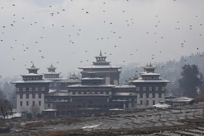 Choáng ngợp trước cảnh sắc đẹp ma mị của Bhutan khi vào đông