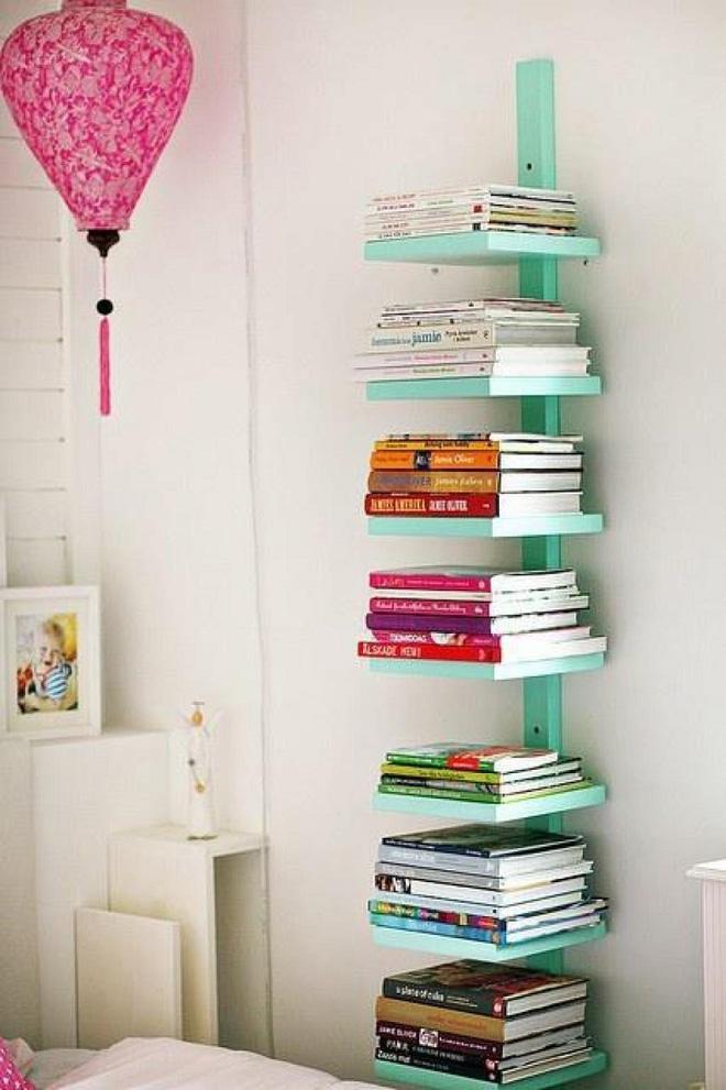 5 ý tưởng thiết kế giá sách vừa đẹp vừa sang trọng