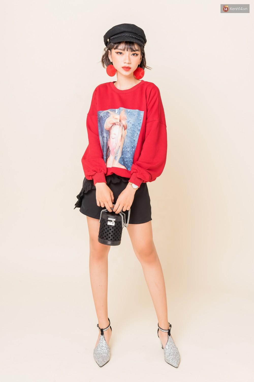 Mix áo len, áo nỉ với chân váy - Công thức nhắm mắt diện cũng đẹp để các nàng áp dụng ngay lúc này - Ảnh 11.