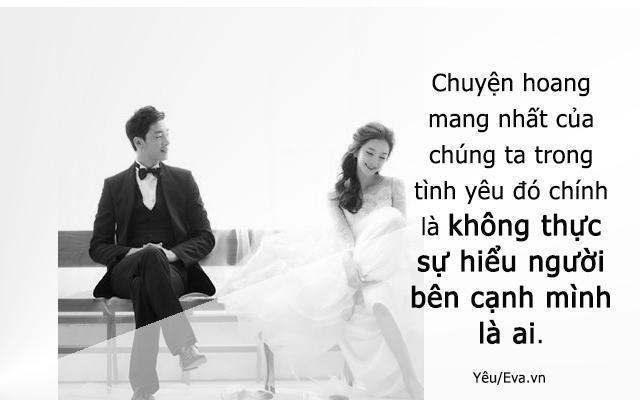 Đừng cưới người bạn cần, hãy cưới người bạn không thể sống thiếu