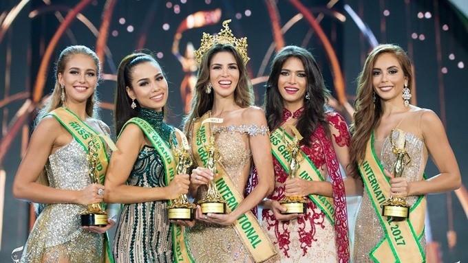 """Việt Nam lọt Top 20 trong bảng xếp hạng """"cường quốc Hoa hậu"""" của năm 2017"""
