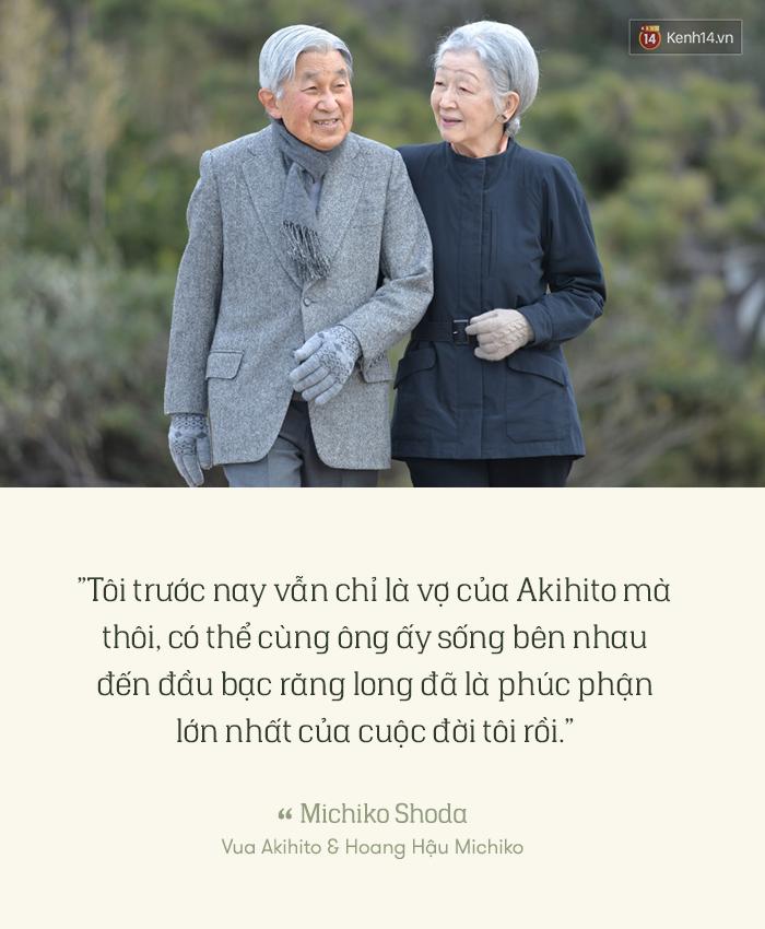 Nếu bạn không tin yêu nhau đến đầu bạc răng long là có thật, hãy đọc câu chuyện tình của nhà vua Nhật Bản Akihito - Ảnh 2.