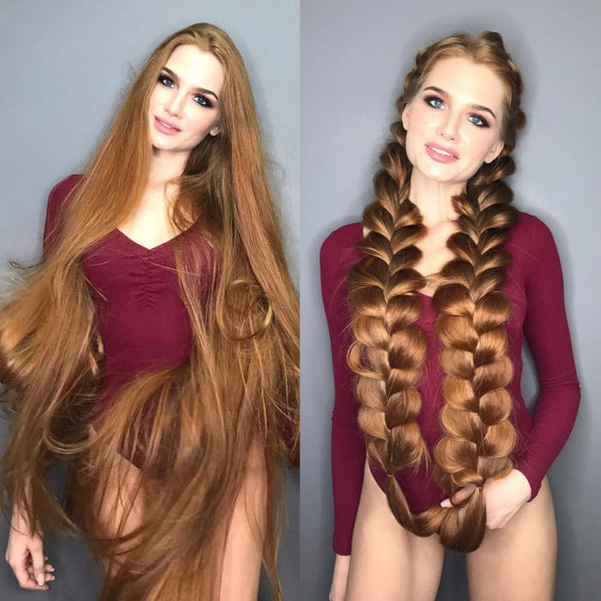 Từng bị rụng tóc đến hói cả đầu, nhờ những bí quyết nhỏ này cô gái Nga đã trở thành nàng Rapunzel đời thực vạn người mê - Ảnh 7.