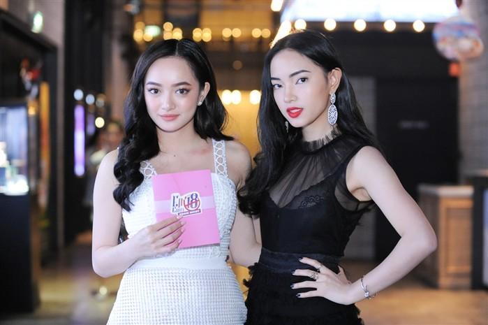Châu Bùi và Kaity Nguyễntham gia sự buổi ra mắt phim