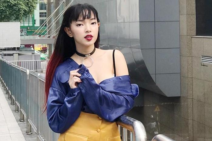 Hot girl Hà Thành với gương mặt xinh lạ và sắc xảo