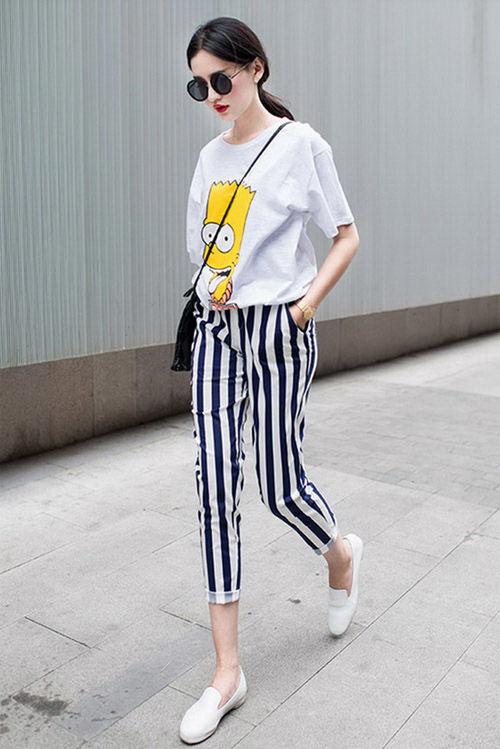 Bật mí bí kíp chọn quần áo giúp chân dài miên man