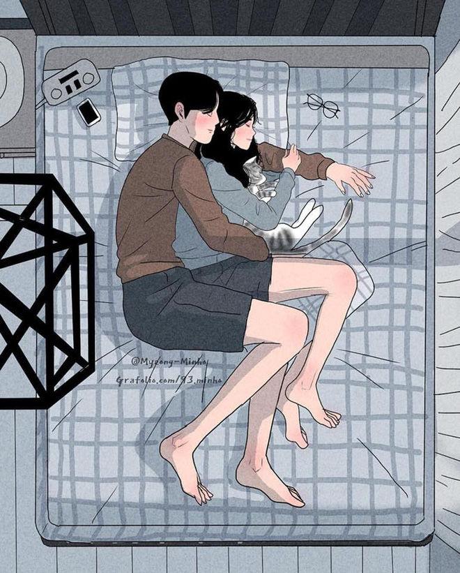 Bộ ảnh lãng mạn, siêu ngôn tình khiến bạn muốn có người yêu ngay lập tức