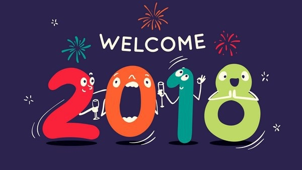 Xin chào 2018, xin chào những dự định mới!