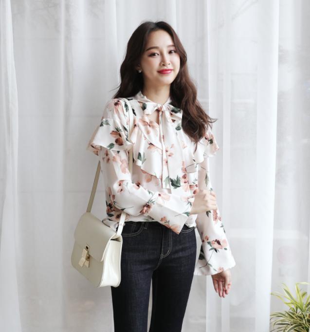 """Xu hướng thời trang """"bánh bèo"""" đậm chất Hàn lên ngôi trong mùa Tết này"""