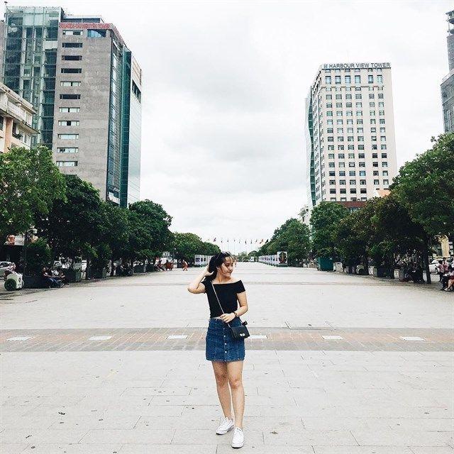 """Những địa điểm chụp streetstyle """"chất phát ngất """" ở Sài Gòn"""
