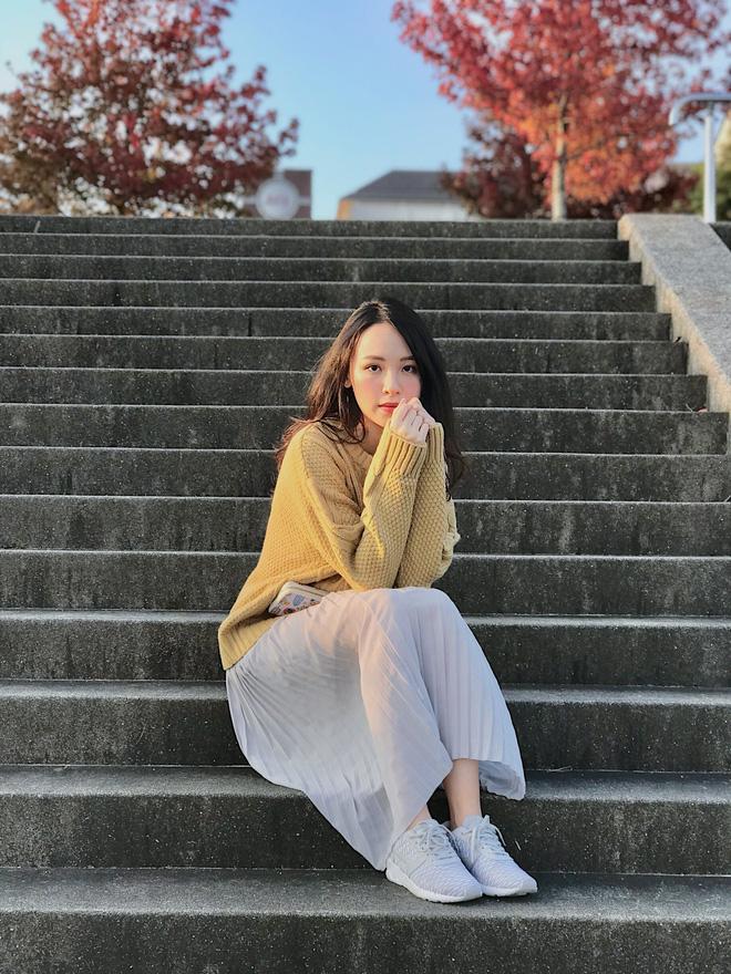 Cô nàng du học sinh Việt tại Nhật gây ấn tượng với nhan sắc ngọt ngào - Ảnh 2.