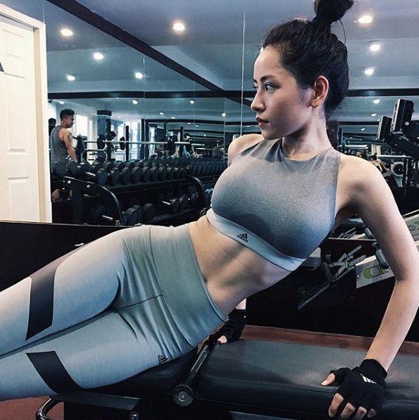Các người đẹp Việt đọ dáng trong trang phục thể thao: Người nảy nở, người săn chắc hút mắt