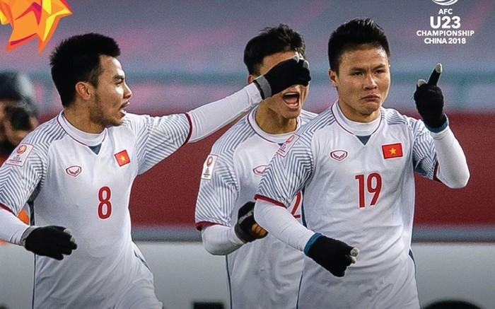 U23 Việt Nam nhận được rất nhiềusự ngưỡng mộtừ cổ động viên nước bạn.