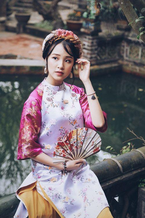 Mách các nàng bí kíp chọn áo dài cực đẹp cho từng dáng người