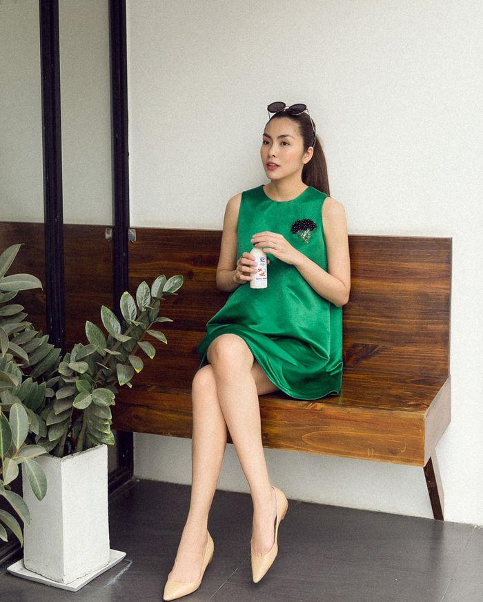 bestie hoc cach dien do Tet cua Tang Thanh Ha 18