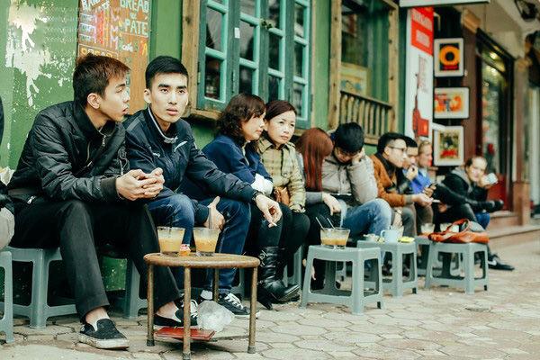 bestie van hoa cafe Sai Gon - Ha Noi