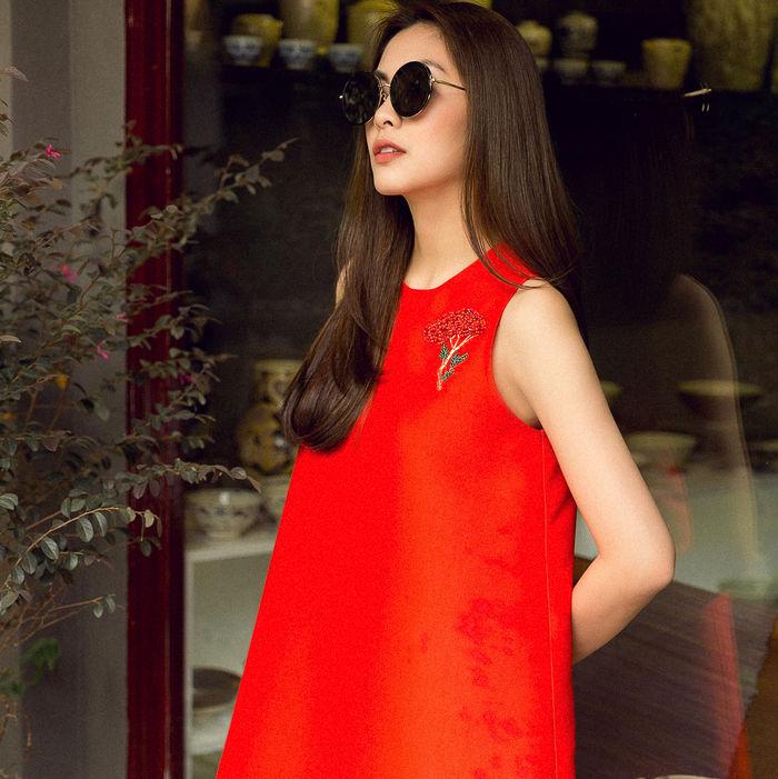 bestie hoc cach dien do Tet cua Tang Thanh Ha 1