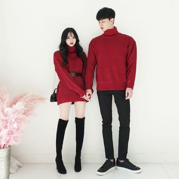 bestie y tuong chon do doi cho ngay Valentine 4