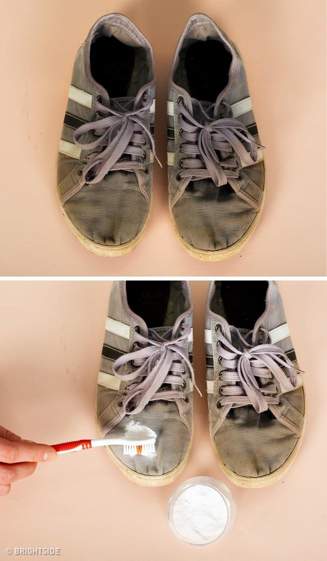 Cần ghi nhớ 13 mẹo làm sạch để giày lúc nào trông cũng như mới tinh như vừa mua - Ảnh 5.