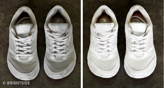 Cần ghi nhớ 13 mẹo làm sạch để giày lúc nào trông cũng như mới tinh như vừa mua - Ảnh 7.