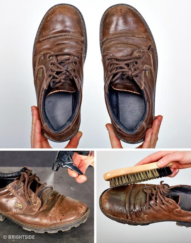 Cần ghi nhớ 13 mẹo làm sạch để giày lúc nào trông cũng như mới tinh như vừa mua - Ảnh 9.