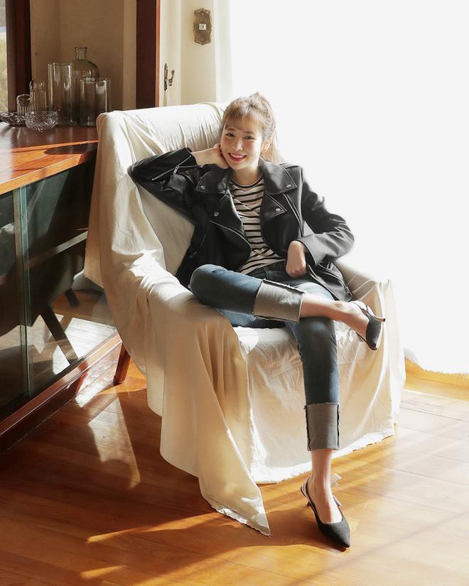 Không phải kiểu bó chít ống côn, xu hướng quần jeans 2018 thoải mái hơn với kiểu ống suông, ống vẩy - Ảnh 20.