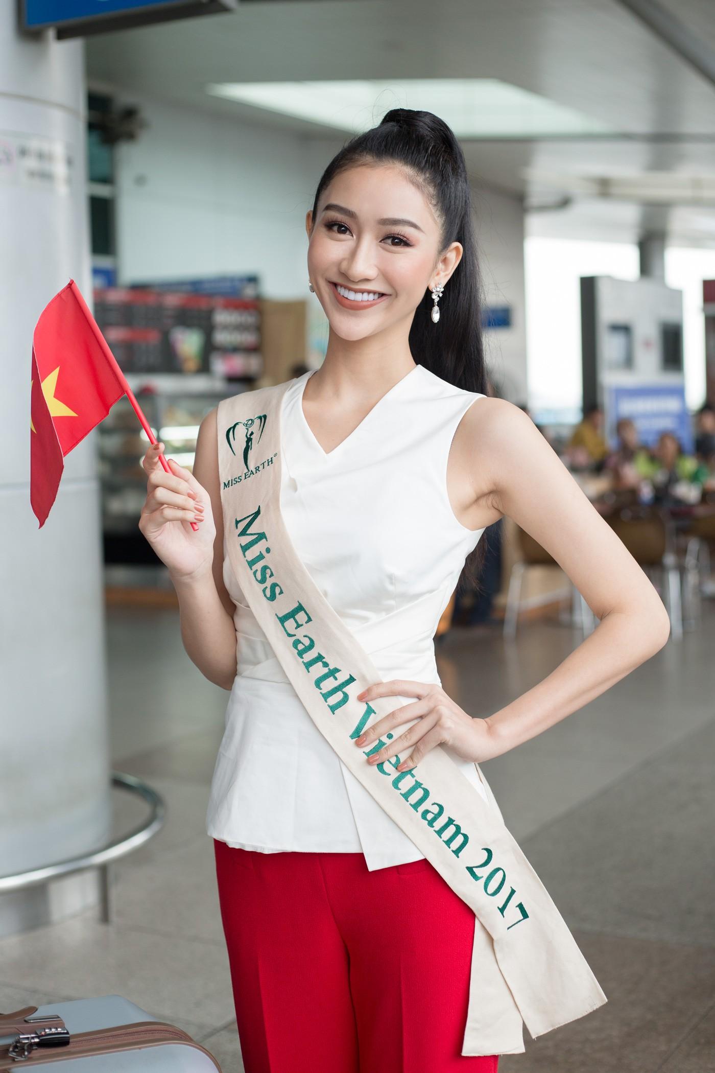 Dàn Hoa hậu, Á hậu gửi lời chúc và đặt cược vào chiến thắng của Hương Giang tại Hoa hậu Chuyển giới Quốc tế - Ảnh 5.