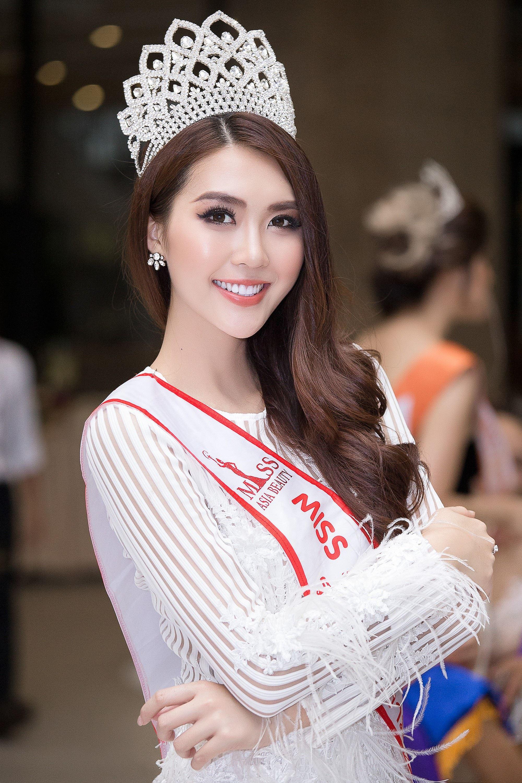 Dàn Hoa hậu, Á hậu gửi lời chúc và đặt cược vào chiến thắng của Hương Giang tại Hoa hậu Chuyển giới Quốc tế - Ảnh 6.