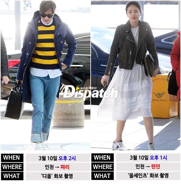 Dở khóc dở cười, Suzy hẹn hò Lee Dong Wook nhưng loạt ảnh Dispatch chụp cô hẹn hò Lee Min Ho lại đang hot nhất MXH - Ảnh 4.