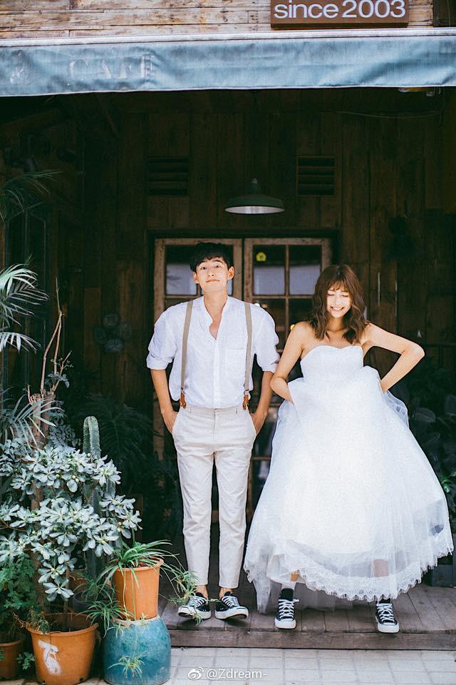 Đẹp thôi chưa đủ mà còn phải chất lừ như cô dâu nhắng và chú rể mắt hí trong bộ ảnh cưới này thì đến nín thở - Ảnh 6.