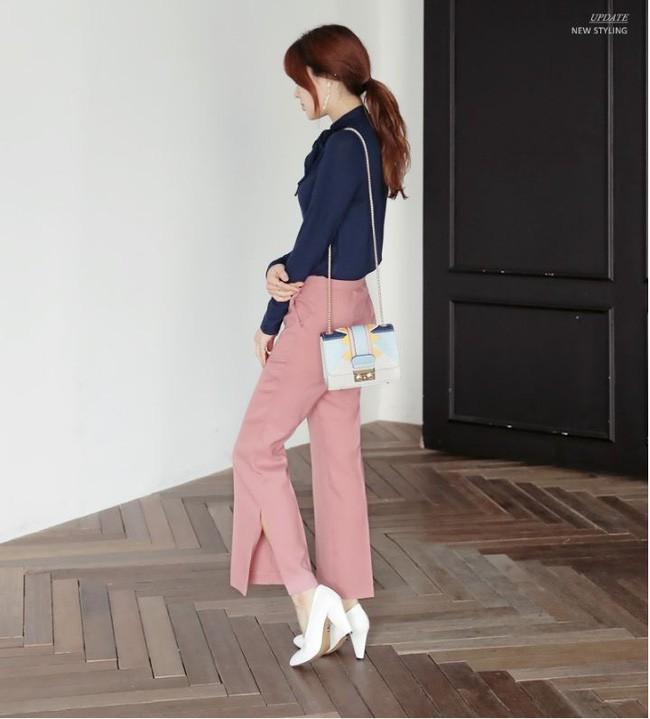 Đây chính là lý do vì sao quần âu/ quần vải đang dần lấn át quần jeans, chiếm chỗ trong tủ đồ của các nàng - Ảnh 4.