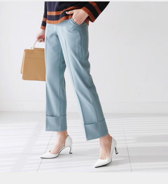 Đây chính là lý do vì sao quần âu/ quần vải đang dần lấn át quần jeans, chiếm chỗ trong tủ đồ của các nàng - Ảnh 5.