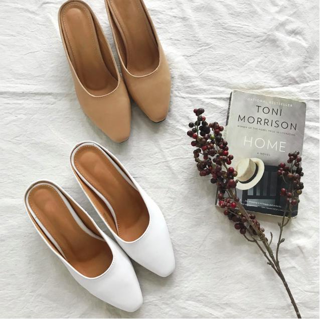 Không phải sneaker, giày khuyết gót là món đồ nàng công sở cần sắm ngay trong hè này - Ảnh 12.