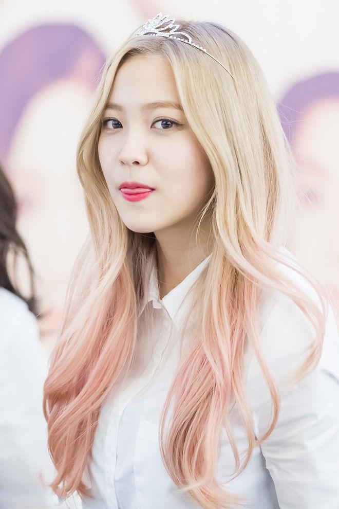 bestie Bạch kim ánh hồng pastel