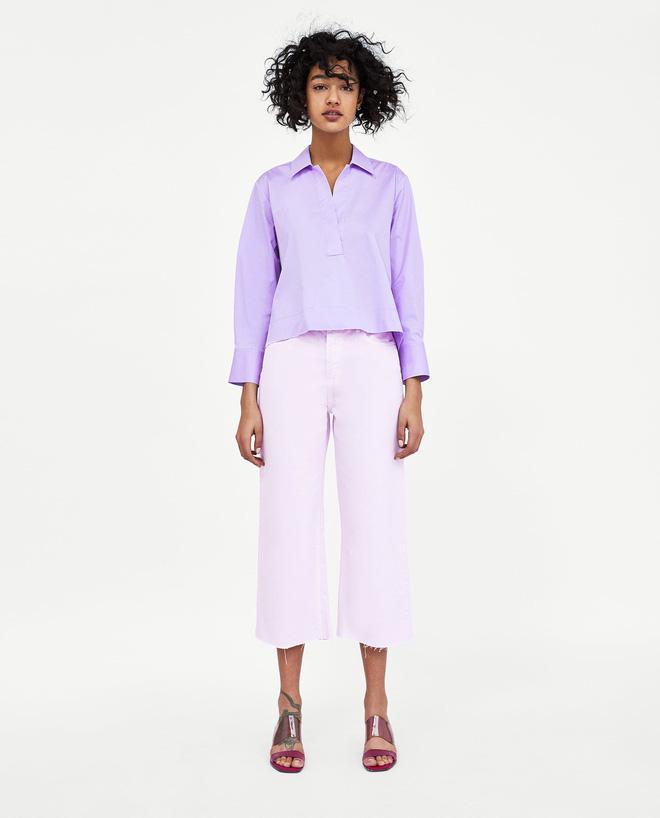 Zara cùng loạt thương hiệu khác lăng xê nhiệt tình mẫu quần jeans sắc màu trong hè này - Ảnh 10.