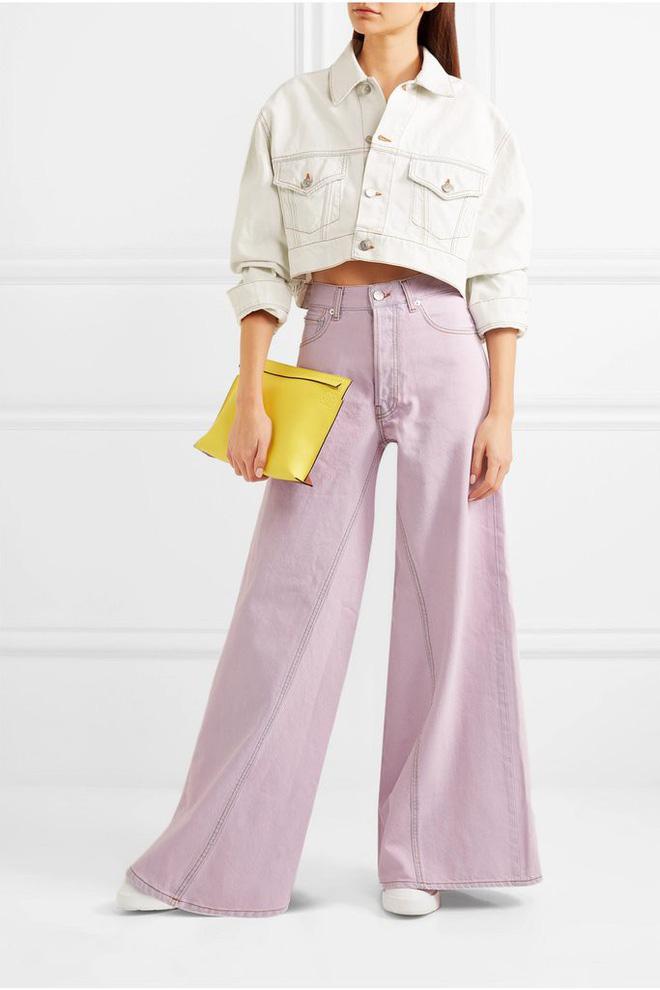 Zara cùng loạt thương hiệu khác lăng xê nhiệt tình mẫu quần jeans sắc màu trong hè này - Ảnh 4.
