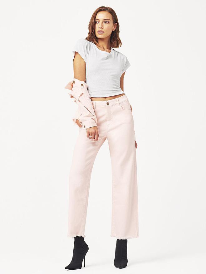 Zara cùng loạt thương hiệu khác lăng xê nhiệt tình mẫu quần jeans sắc màu trong hè này - Ảnh 3.