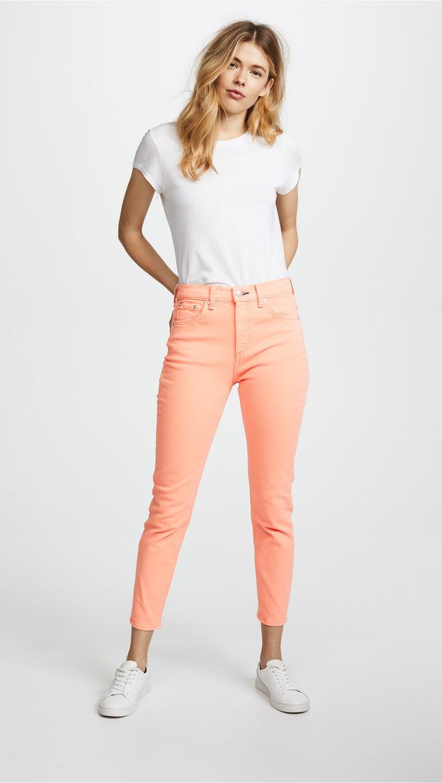 Zara cùng loạt thương hiệu khác lăng xê nhiệt tình mẫu quần jeans sắc màu trong hè này - Ảnh 12.
