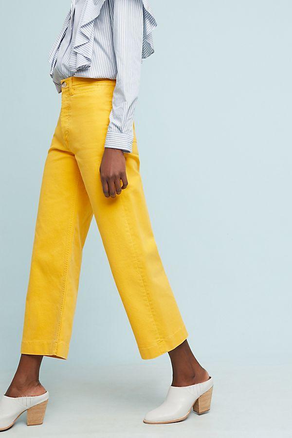 Zara cùng loạt thương hiệu khác lăng xê nhiệt tình mẫu quần jeans sắc màu trong hè này - Ảnh 7.